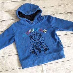 Thomas the train fleece hoodie